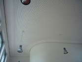Akustikdecke in Gemeinschaftsraum Wehrend der Arbeiten